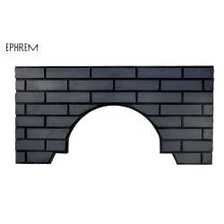 Façade Noire aspect briques pour fours domestiques EPHREM