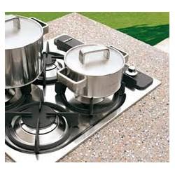 Maxime 2 - module Table de cuisson 4 foyers à crépir
